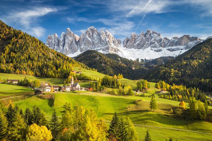 Najpiękniejsze miejsca w Południowym Tyrolu