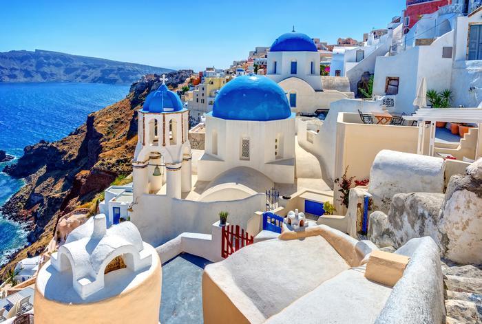 Wyspy greckie: Santorini
