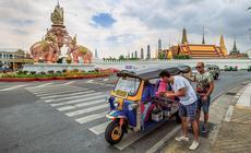 Tuk-tuk w Bangkoku