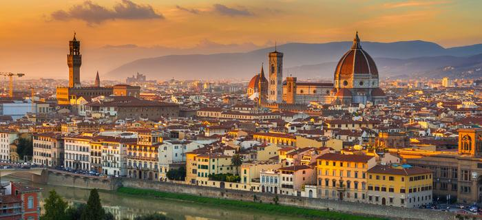 Florencja - widok na katedrę Santa Maria del Fiore