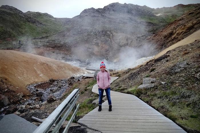 Krisuvik to największy na świecie obszar gorących źródeł.