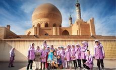 Wizyta w szkole w Iranie