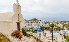 Cyklady - Hora na wyspie Ios (wyspy greckie)
