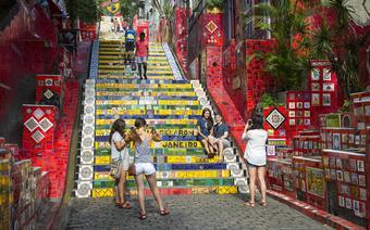Schody Escadaria Selaron