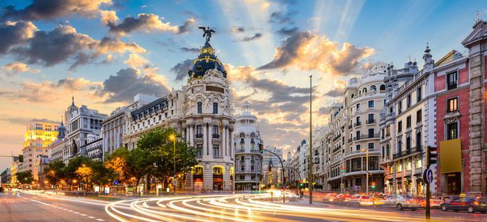 Madryt - Gran Via
