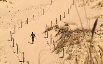 Spacer nad Morze Bałtyckie przez Wydmę Czołpińską