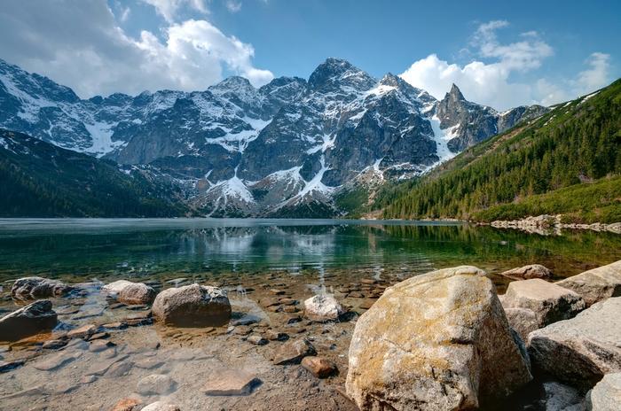 Morskie Oko jest jednym z najpiękniejszych jezior w Polsce