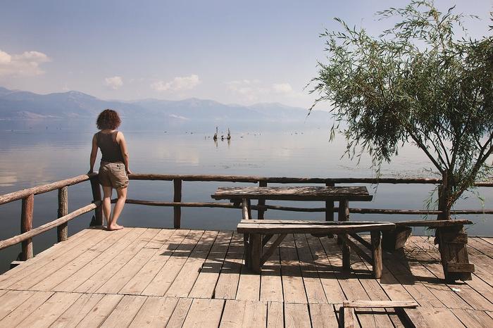 Jezioro Prespa przyciąga swoim spokojem