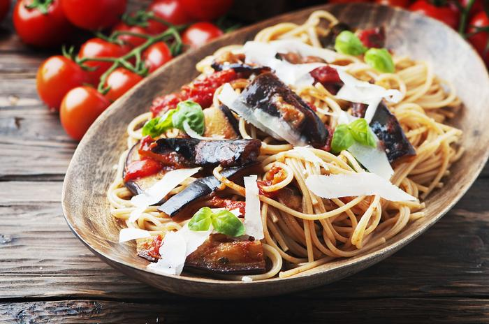 Sycylijskie spaghetti - pasta alla norma