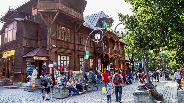 Krupówki – główna ulica Zakopanego