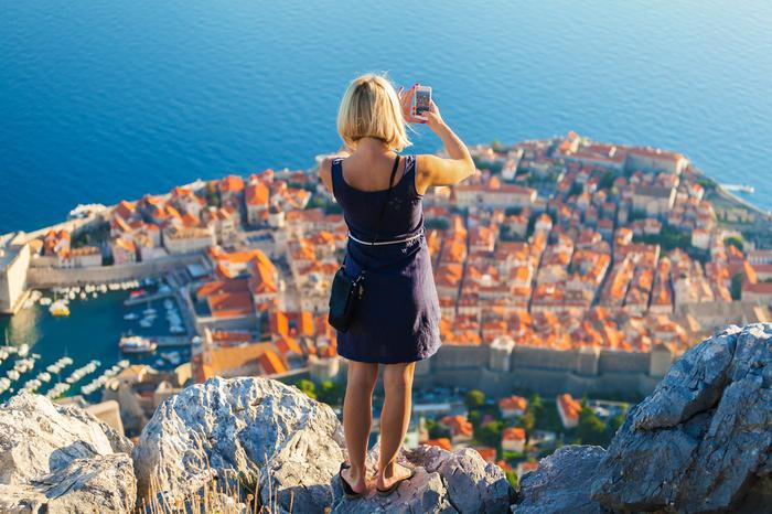 Chorwacja, widok na Dubrownik