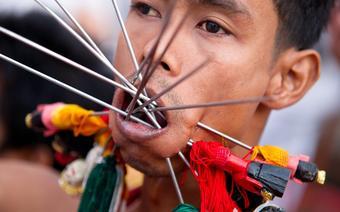 Festiwal Wegetariański w Tajlandii