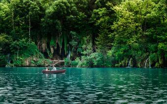 Wycieczka łódką po Jeziorach Plitwickich