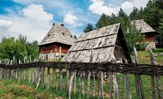 Serbia, Skansen Staro Selo w Sirogojnie