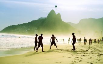 Plaża Ipanema w Rio de Janeiro