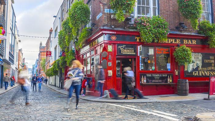 Temple Bar w Dublinie