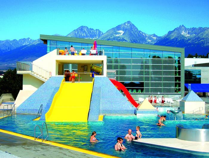 Park wodny AquaCity Poprad