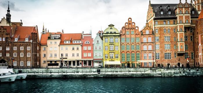 Motława i Stare Miasto w Gdańsku