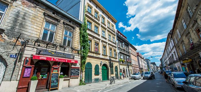 Ulica Józefa na krakowskim Kazimierzu