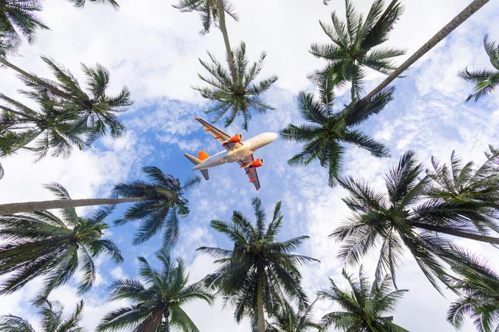Lot na wakacje w tropikalnym kraju