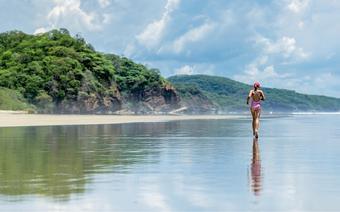 Plaża Hermosa to  raj dla surferów