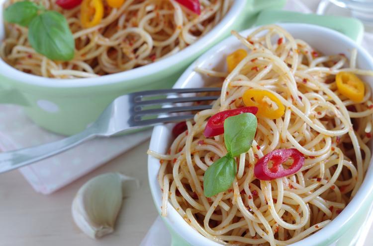 5. Spaghetti aglio olio e peperoncino