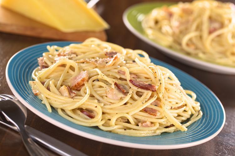 6. Spaghetti alla Carbonara
