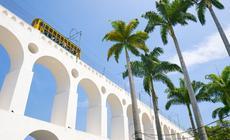 Dzielnica Santa Teresa jest jednym z ciekawszych miejsc w Rio de Janeiro