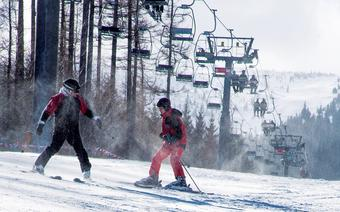 Karpacz: narty dla początkujących na Czarnej Kopie