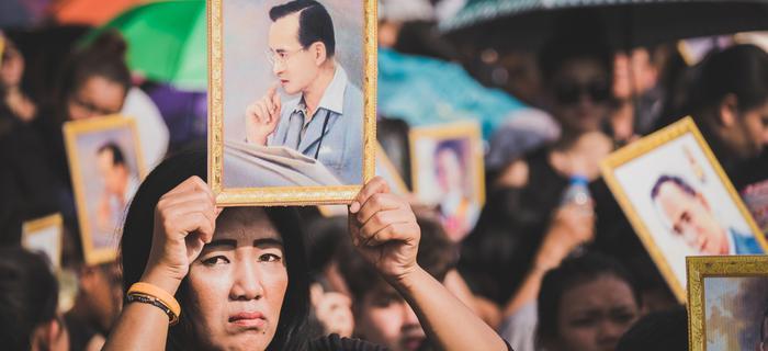 Żałoba narodowa w Tajlandii