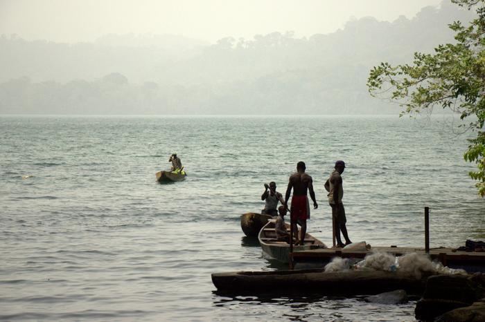 Jezioro Słoniowe w Kamerunie