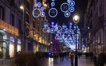 Dekoracje świąteczne w Barcelonie