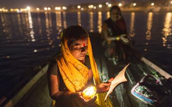 Ganges to najświętsza rzeka w Indiach
