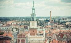 Widok na stare miasto, jedną z głównych atrakcji Poznania