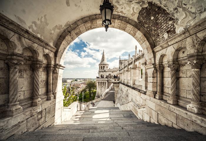 Baszta Rybacka polecana przez prawie każdy przewodnik po Budapeszcie