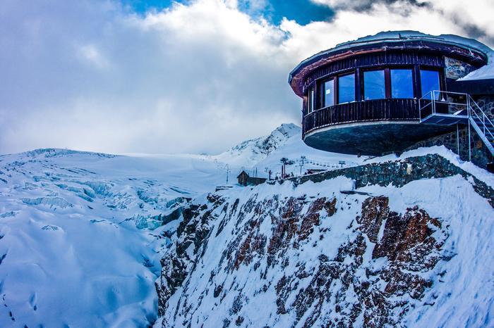 Allalin, czyli najwyżej położona restauracja obrotowa na świecie