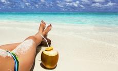 Rajska plaża, zdjęcie ilustracyjne