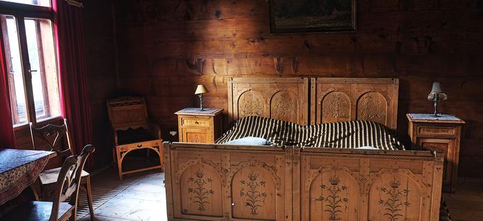 Pokój Szafranowy w Domu Muzealnym Ornak