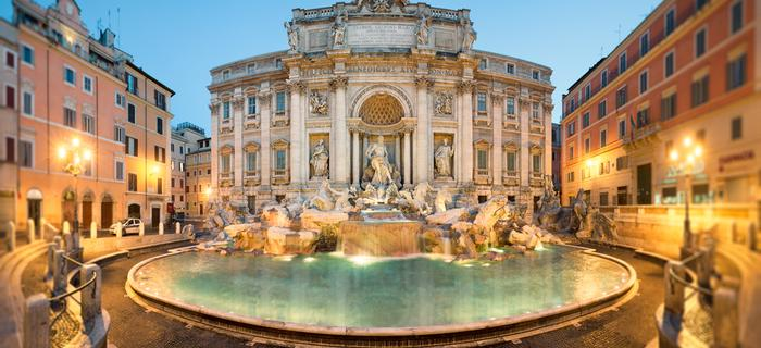 Jeden z najważniejszych zabytków Rzymu – Fontanna di Trevi