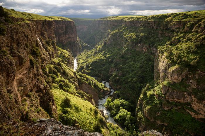 Kazachstan, kanion rzeki Aksu