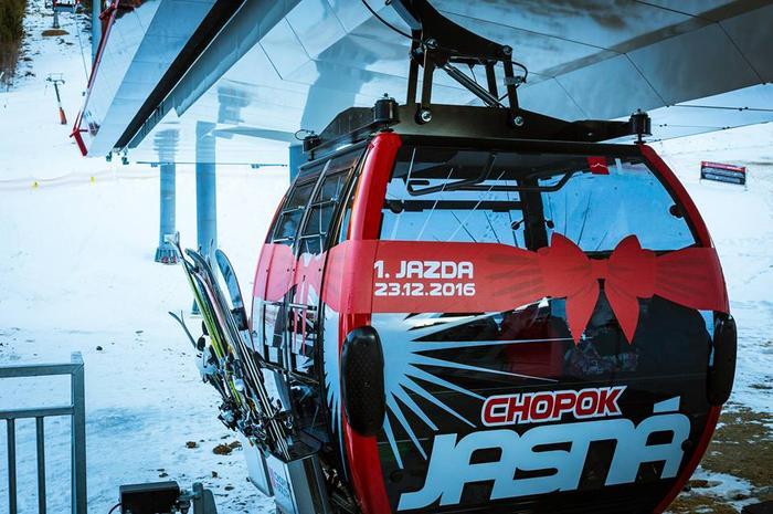 Nowa gondola w Jasnej