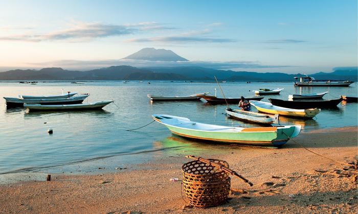 W krajobrazie Bali dominuje majestatyczny wulkan Agung