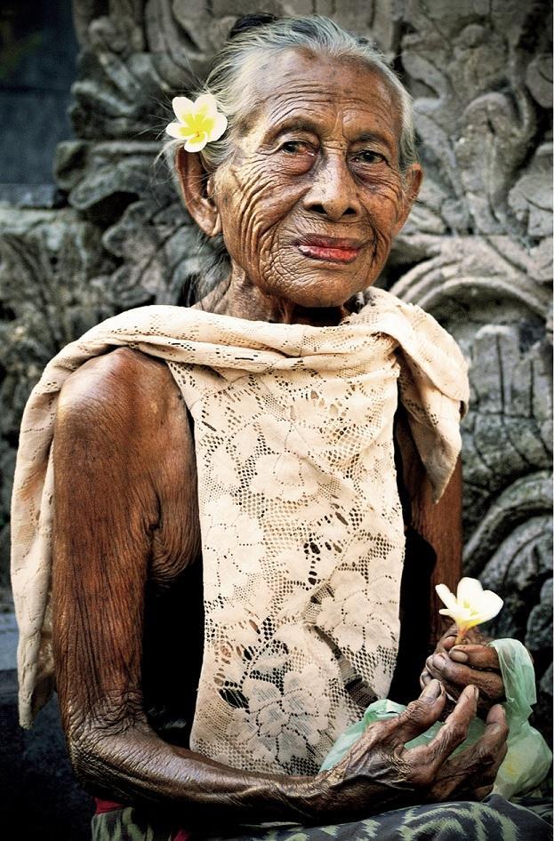 Ponad 90-letnia Mangku Sukrasih