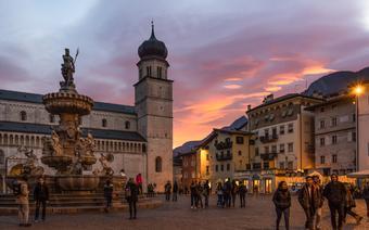 Piazza Duomo w Trydencie