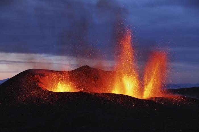 Islandia, erupcja wulkanu Eyjafjallajokull