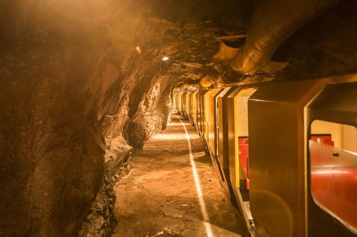 Dawna kolejka górnicza w Gasteiner Heilstollen