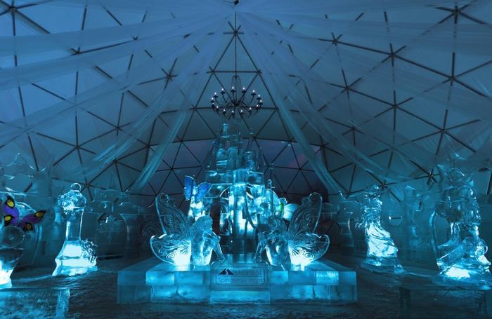 Czechy, Wystawa rzeźb lodowych w Szpindlerowym Młynie