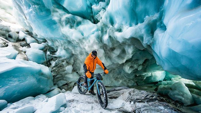 Jaskinia pod lodowcem Russella