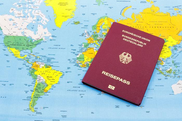 Paszport Republiki Federalnej Niemiec