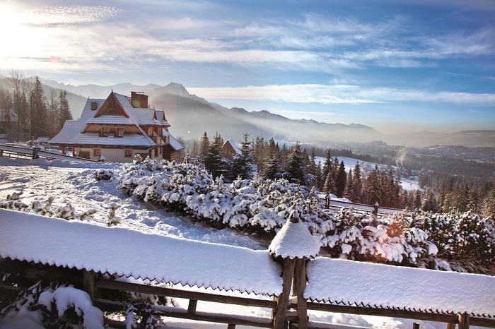 Cyrhla to najwyżej położona dzielnica Zakopanego